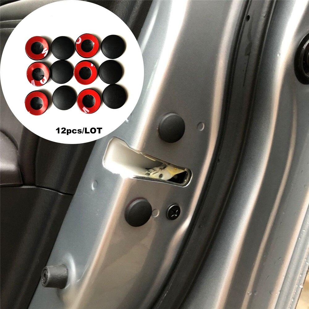 12 Stücke Auto Türschloss Schraube Protector Aufkleber Fall Für Honda Crv Accord Odeysey Cross Fit Jazz City Civic Jade Crider Spirior