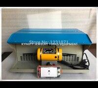 Ювелирные изделия Инструменты мини таблице полировщик, полировка двигатель с пылесборником, мини ювелирных скамейка токарный станок
