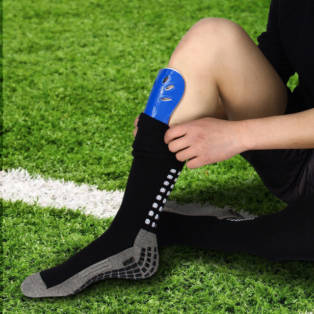 1 Pair Football Shin Pads Basketball Shin Guards Protector for Kids Adults – Size,20*12cm / 15*8cm