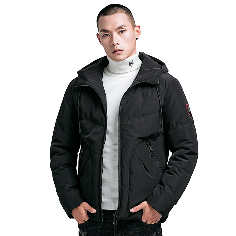 Outwear Jacket Chaud Jacket Parka Green Coton Épaississent Hiver Manteaux Veste black Capuchon Casual Noir Rembourré Jacket Hommes À Vestes gray xZIqP6