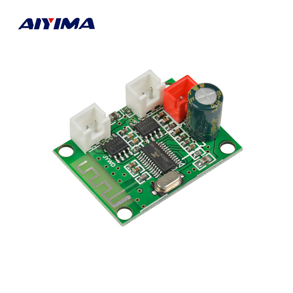 AIYIMA Bluetooth Audio Amplifier Board 3W*2 Two Channel Stereo Bluetooth Audio Module Speaker 4Ohm DC3.3V-5V