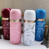 Oussirro Thermos Creative Girls Cute Color Stainless Steel Thermos Cup 350 Ml 400 Ml