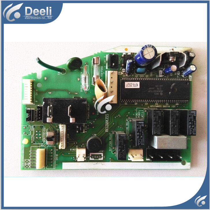 Подробнее о 95% new good working for air conditioning computer board KFR-35G/E/F OKGD00355 PC control board on sale 95% new for air conditioning computer board circuit board kfr 26 32 35g bp2dn1y f good working