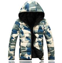80'S Winter Men Jacket 2017 Brand Casual Warmth Camouflage Mens Jackets And Coats Thick Parka Men Outwear XXXL