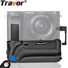 Travor батарейный блок с ИК-функцией кабельного разъема для камеры sony Alpha A6000