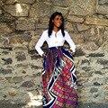 Bata Africaine Promoción Vestidos Africanos Tradicionales Africanos Vestidos de Poliéster Venta 2016 Nueva Impresión de la Moda Ropa de Mujer