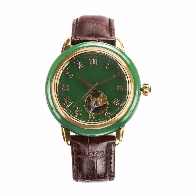 2020 Top Fashion Direct Selling Hotan Jade Watch Man Sapphire Glass Waterproof Automatic Mechanical
