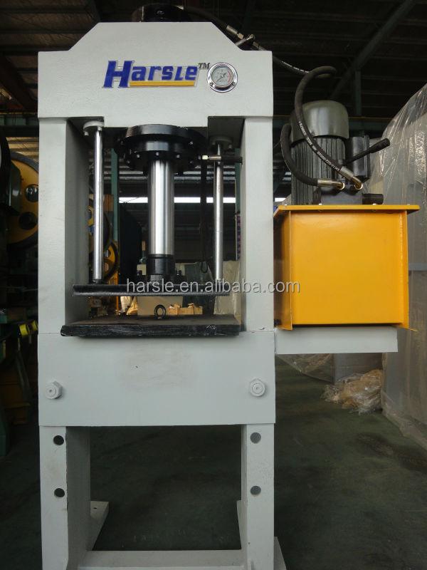 Hydraulic H gantry frame press machine/Hydraulic Small Manual Hand Press  Machine