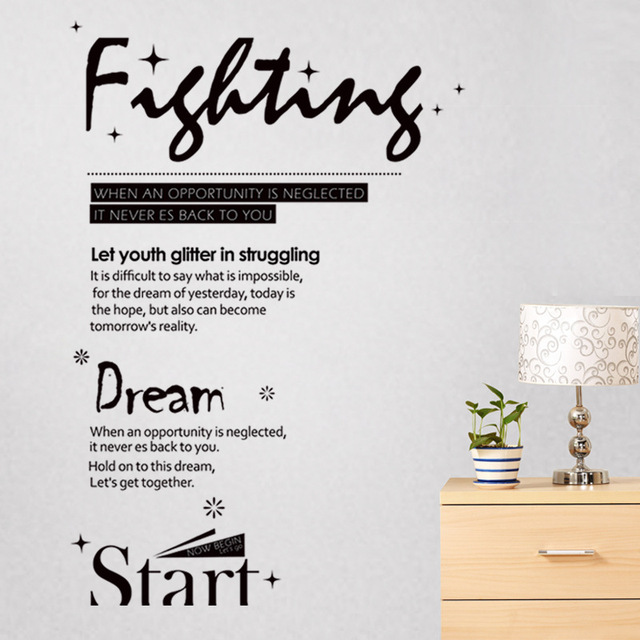 Personalized art and creative wall stickers bedroom living room decorations tv background wall stickers