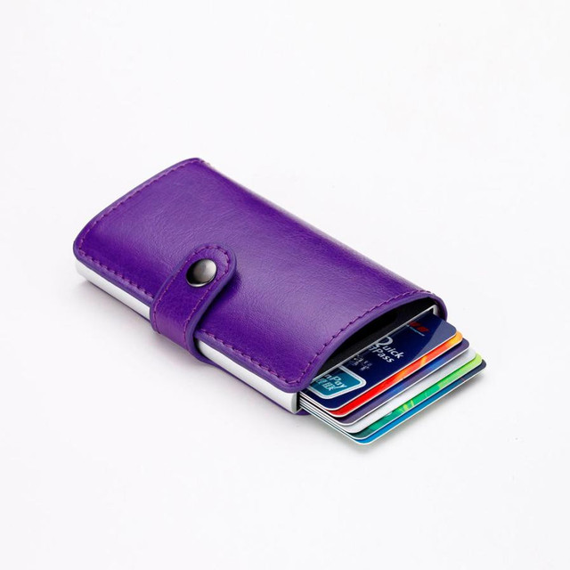 Men id credit card protector leather business card holder package men id credit card protector leather business card holder package box ladies purse for cards purse colourmoves Image collections
