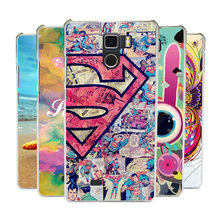 Print Superman Spongebob Cat Umi Fair Case Cover Colored Painted Hard Plastic Shell Skin For Umi Fair Phone Cases Free Shipping