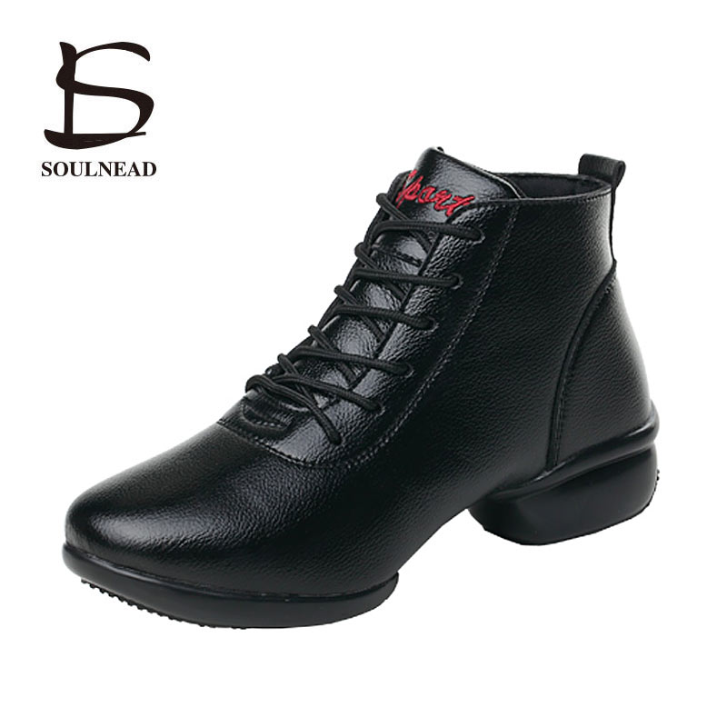 Ladies Dancing Shoes Sneakers Modern Jazz Dance Shoes Spring Autumn Black Teachers Square Dance Shoes Woman Hip Hop Jazz Shoes  Ladies Dancing Shoes Sneakers Modern Jazz Dance Shoes Spring Autumn Black Teachers Square Dance Shoes Woman Hip Hop Jazz Shoes