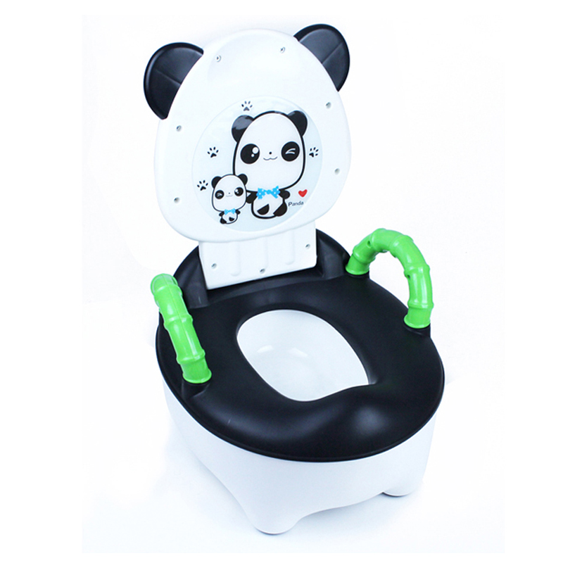 Panda Portable Baby Kid Children Toddler Toilet Plastic Potty Stool Training Cheap Potty Chair