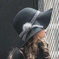 Детские дети-действительно норки шерсти шерстяная шапка шляпа 2016 новая зимняя одежда