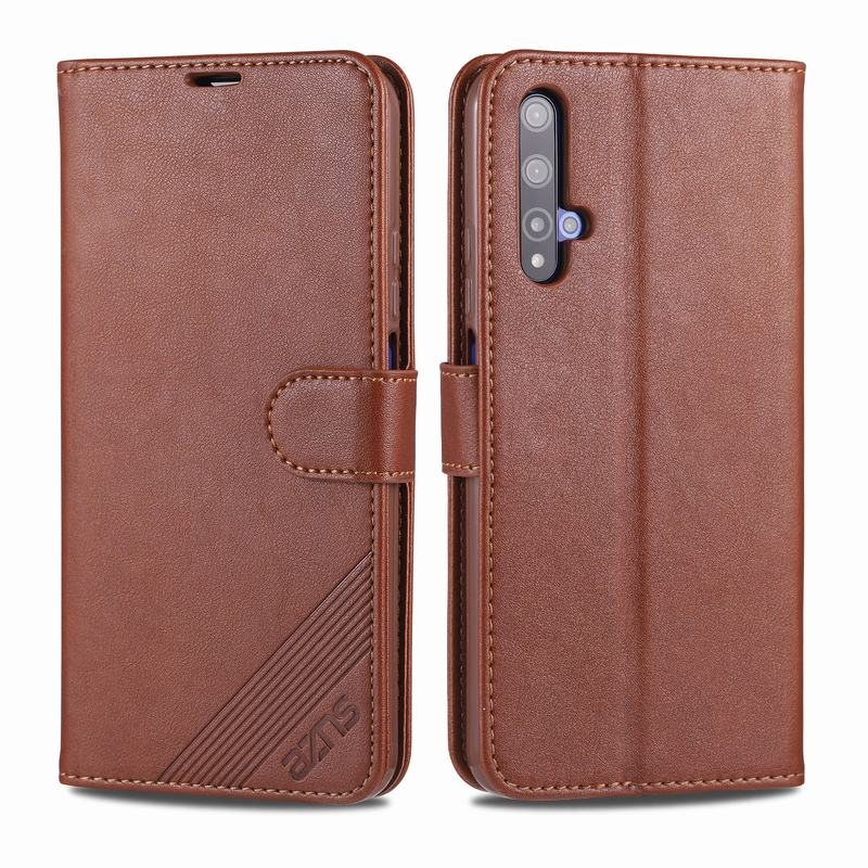 Wallet Case For Huawei Honor 20 Pro Cover Case Honor20 Luxury PU Leather Flip Full Protector Shockproof Vintage Phone Housing