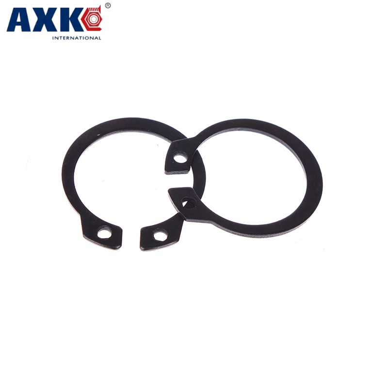 M30 M32 M34 Black Carbon Steel Mn65 Washer DIN471 C Type Snap Retaining Ring For 30mm 32mm 34mm Outside External Shaft CirclipM30 M32 M34 Black Carbon Steel Mn65 Washer DIN471 C Type Snap Retaining Ring For 30mm 32mm 34mm Outside External Shaft Circlip