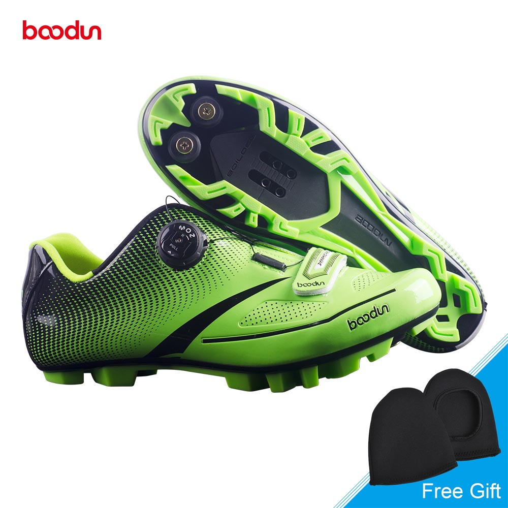 BOODUN New Professional MTB Bike Shoes Breathable Auto-lock Cycling Shoes Mountain Bike Non-slip Bicycle Shoes Zapatos ciclismo new arrival hot professional bicycle racing sports mountain bike cycling shoes breathable athletic mtb road bike auto lock shoes