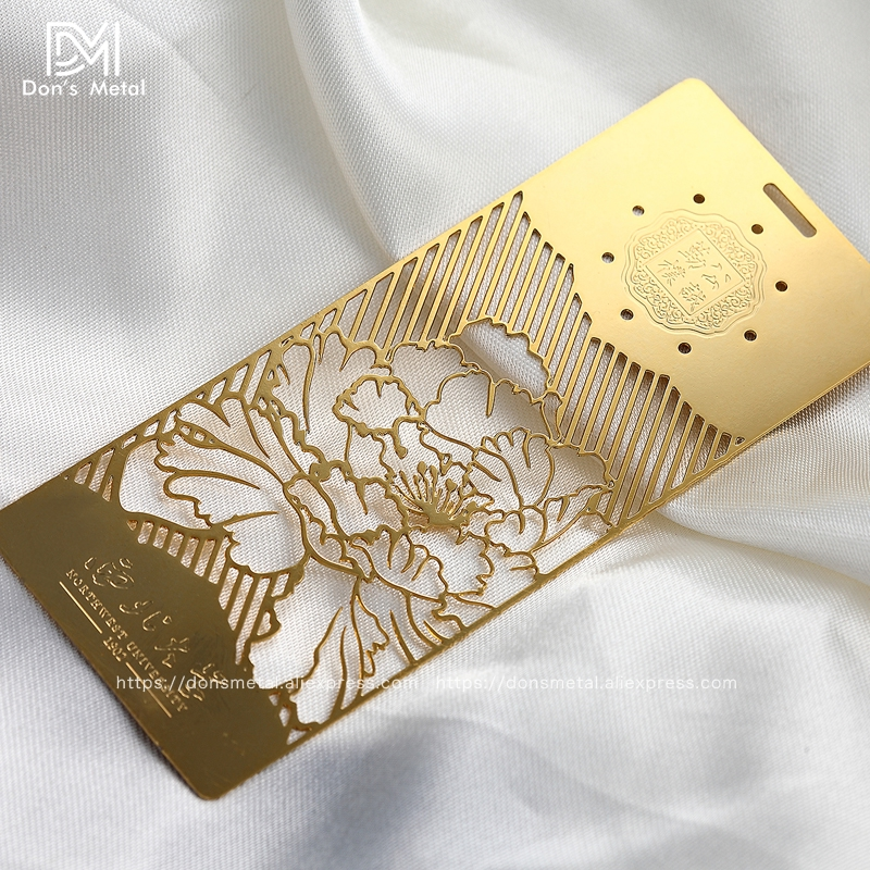 Stainless steel mirror card making mirro