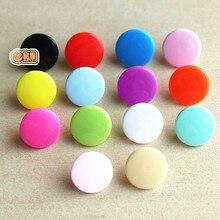 Разноцветные 280 проданных единиц Кам T3 для кнопки аксессуары в общей сложности 14 видов цветов