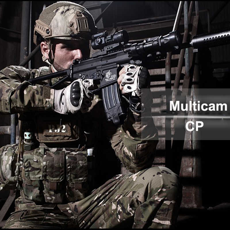 Nueva chaqueta con capucha de caza táctica Multicam Camo CP Ripstop campo caza Jakcet CP para chaqueta de caza al aire libre con capucha