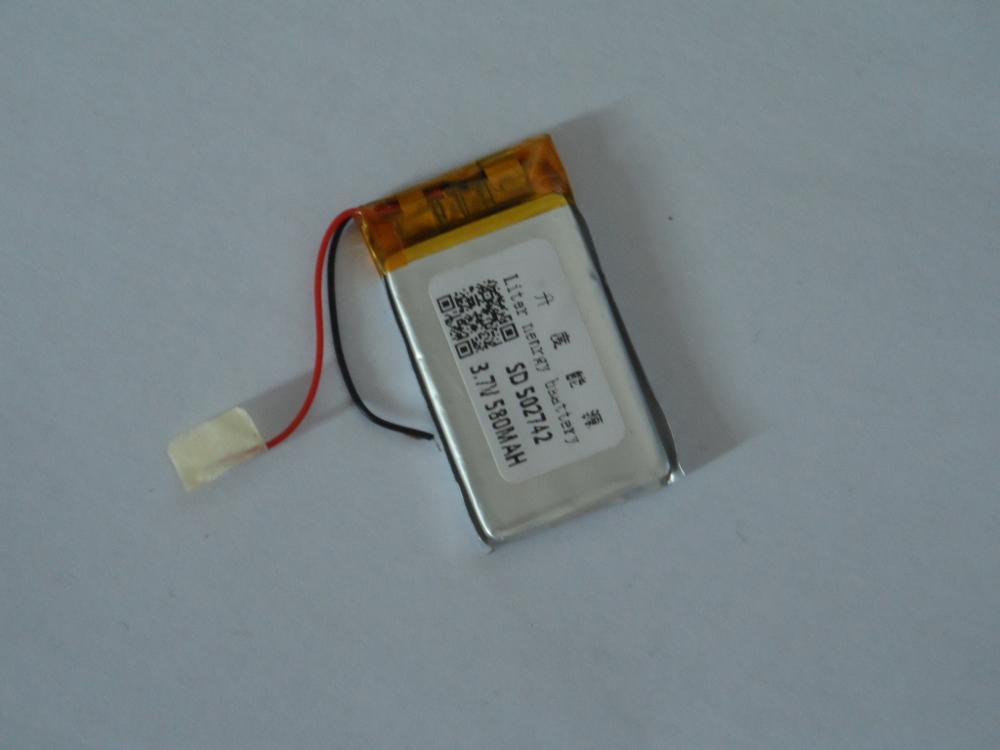 Mobile phone lithium battery -502742 (580mah)