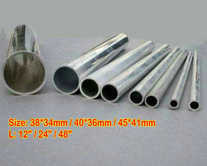 "6061 ALUMINUM TUBE PIPE ROUND 1.5/"" ODx1.34/""IDx24/"" x 0.0787/"" Wall //38x34x600MM"