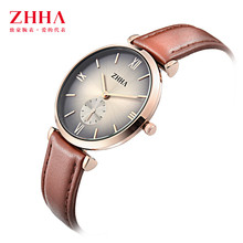 2016 New Brand Quartz Watch lovers Watches Women Men Dress Watches Leather Dress Wristwatches Fashion Casual