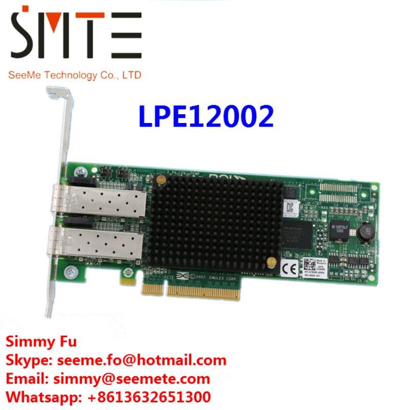 LPE12002 8G двойной PCI E порт HBA сетевой адаптер карты
