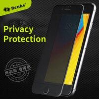 Benks 3D 곡선 전체 커버 안티 눈부심 강화 유리 아이폰 7 6 초 플러스 8 8 플러스 화면 보호기 개인 정보 보호 필름