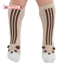 Kids Socks Animal Toddler Girl Baby Knee-High Cotton Cute Lawadka for Clothing-Accessories
