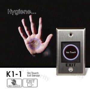 Image 1 - O botão infravermelho do sensor conduziu a indicação nenhum botão do toque para o sistema de controle de acesso