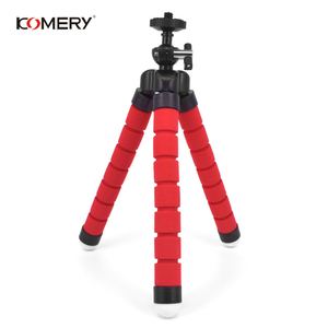 Image 4 - KOMERY Mini Flexible Sponge Octopus Tripod For iPhone Xiaomi Huawei Smartphone Tripod for Gopro Camera With Phone Clip Holder
