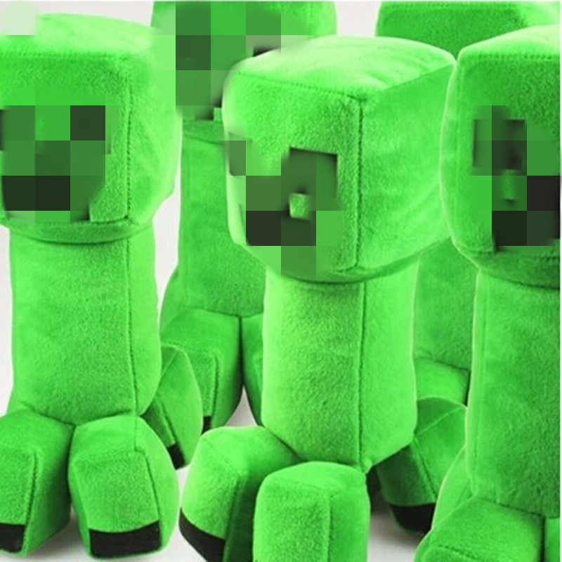 Stuffed Plush children Toys  Creeper Enderman Sketelon Ocelot Plush Toy for children friends boys cool gift baby