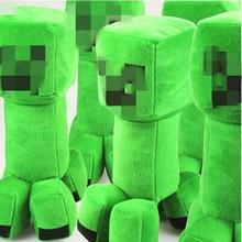Minecraft Stuffed Plush children Toys TNT Creeper Enderman Sketelon Ocelot Plush Toy for children friends boys cool gift baby все цены