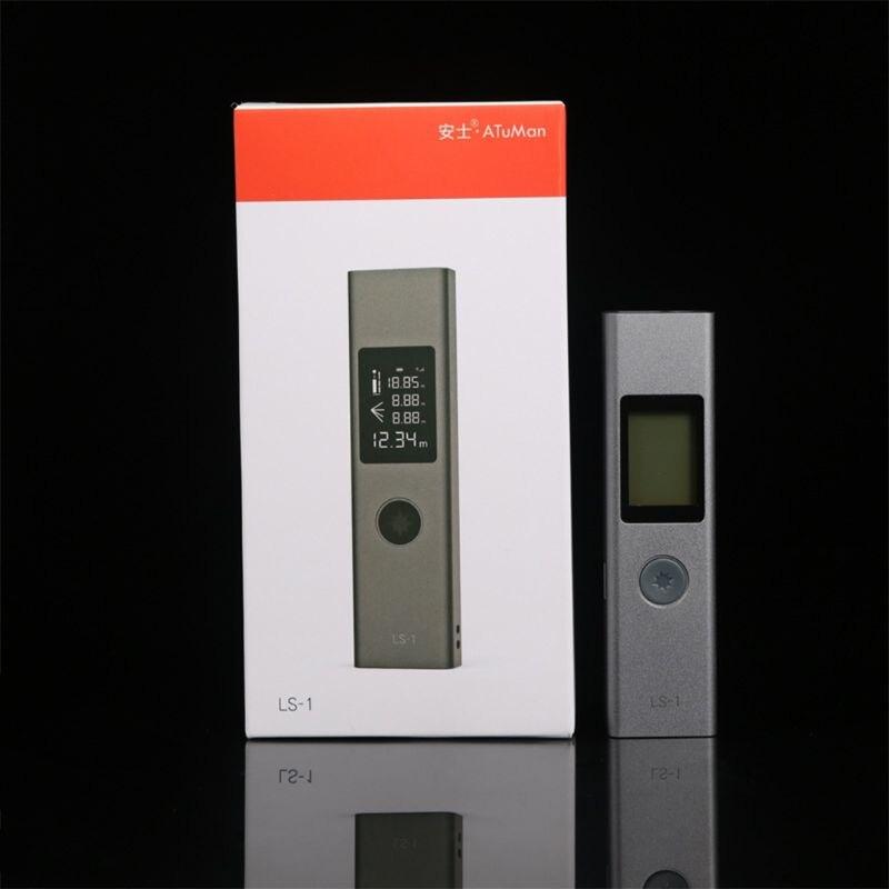 40m Laser-entfernungsmesser LS-1 Laser-distanzmessgerät Laser Range Finder Hohe Präzision Messung Mini Tragbare Handheld Palette finde