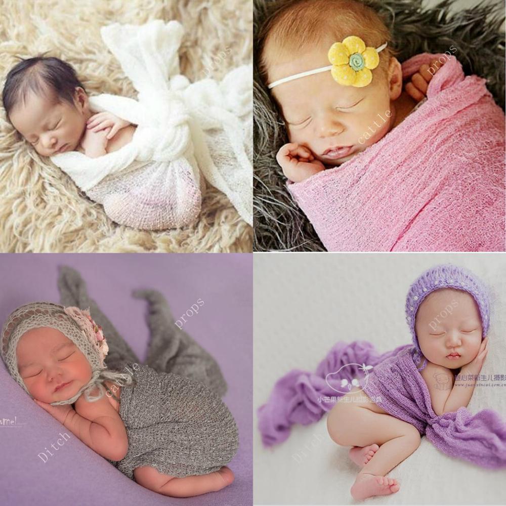 (150*40 Cm) Newborn Wrap Newborn Photography Props Photography Background Women's Scarf
