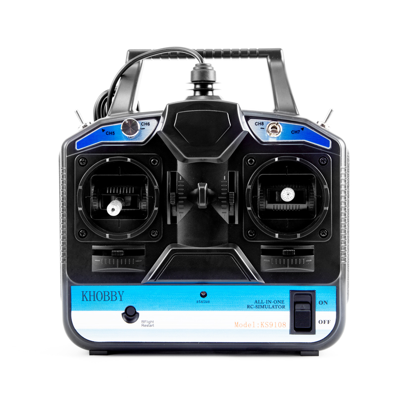 Nouveau 8CH RC simulateur de vol soutien Realflight G7 Phoenix 5.0 XTR 181 télécommande pour hélicoptère drone de course à voilure fixe