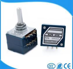 2PCS  Japan ALPS 10K 20K 50K 100K 250K  RK27 double volume potentiometer  ,The default send 50K