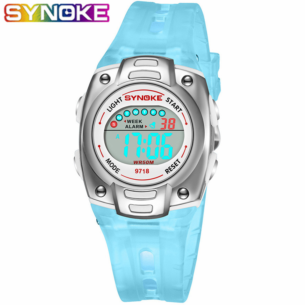 SYNOKE Multifunction Chidren Digital Watches Boys Girls Child Sports font b Electronic b font Wrist Watch
