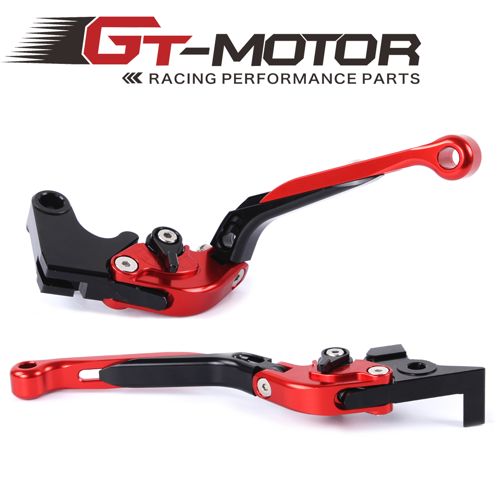 GT Motor - F-16/Y-688 Adjustable CNC 3D Extendable Folding Brake Clutch Levers For Yamaha MT-07 MT-09 2014 FZ6 FAZER 2004-2011 cnc billet adjustable long folding brake clutch levers for yamaha fz6 fazer 04 10 fz8 2011 14 2012 2013 mt 07 mt 09 sr fz9 2014