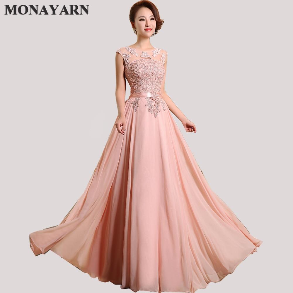 11b0f9c844a6b Evening Dresses Cheap 2017 Hot Sleeve Floor-Length Party Dresses Sexy  Chiffon Long A-Line Prom Dresses Free shipping