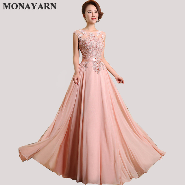 Bridesmaid Dresses Cheap 2018 Hot Sleeve Floor Length Party Dresses Sexy  Chiffon Long A Line Prom Dresses Free shipping TL8996-in Bridesmaid Dresses  from ... 09be7ee0b505