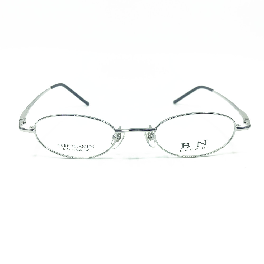 2edda63ca9051 Pure Titanium Spring Hinges Vintage Small Oval 44mm Eyeglass Frames Full Rim  Rx able Glasses-in Eyewear Frames from Apparel Accessories on  Aliexpress.com ...