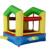 Yard envío gratis tiny toy aire gorila inflable barata lindo puente hinchable para los niños ejercitan