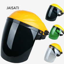 JAISATI Transparent protective mask Kitchen fume protection Dust and spatter grinding masks Welding mask