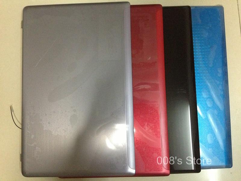 New Cover For Lenovo Ideapad Z570 Z575 Top LCD Back Lid/Front Bezel/Palmrest Upper/Bottom BaseCase 60.4M436.001|lenovo ideapad cover|cover for lenovo|cover for - title=