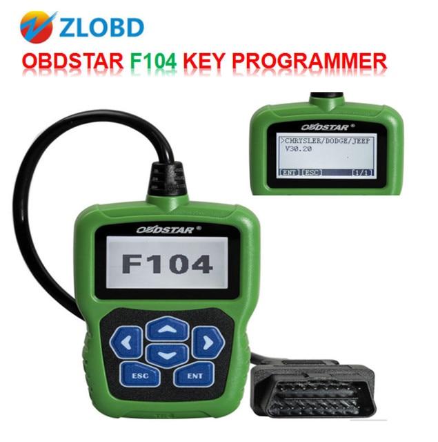 US $160 0 |OBDSTAR F104 Key Programmer F104 for Chrysler/Jeep/Dodge with  Odometer and Pin Code Reader 100% Original OBDSTAR F104 Hot Sale-in Car