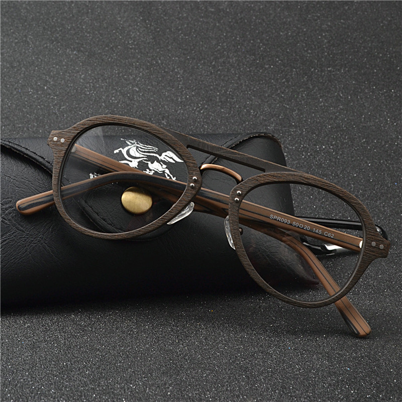 Деревянные очки для чтения с защитой от усталости, для женщин и мужчин, прогрессивное бифокальное расстояние, с диоптриями, очки для чтения при дальнозоркости, FML