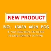 15039 4619 шт. роликовый набор подставок буйдлинг блоки кирпичи новые детские игрушки коллекционная игрушка Подарочная модель