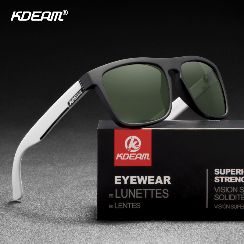 KDEAM Guy's All Matching Polarized Sunglasses Night Sight/Photochromic Driving Glasses UV400 New Colors Of KD156 CE